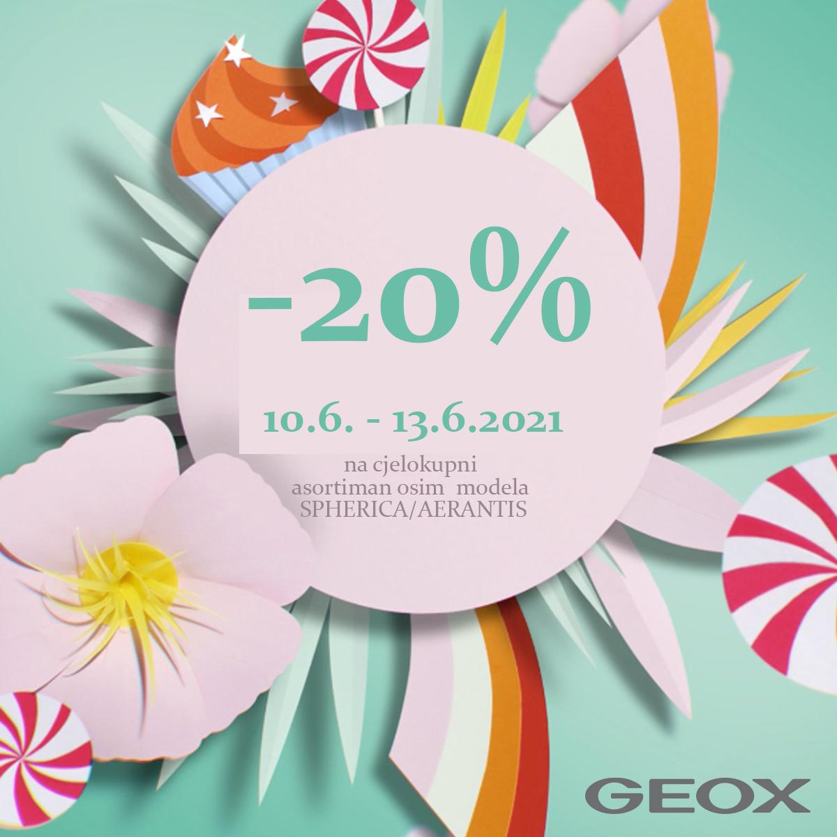 Geox-20% FB